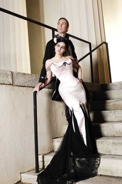Elegant gothic wedding gowns | WhiteAzalea Simple Dresses: Simple Gothic Wedding Dresses