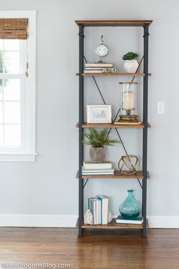 How to style a bookcase, styling tips, bookcase styling