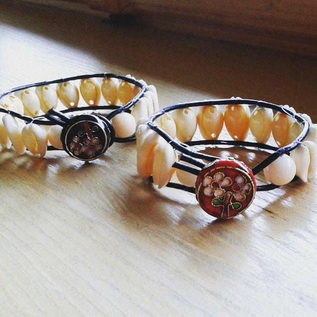 Nowe bransoletki  #modniepodgiewontem #folk #tworzymy #wena #wrocila