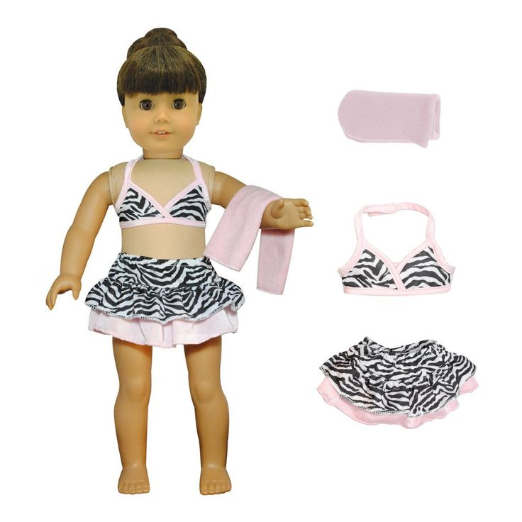 Bikini Swim-Suit Fits American Girl Dolls, Madame Alexander & Other 18 Inches Dolls