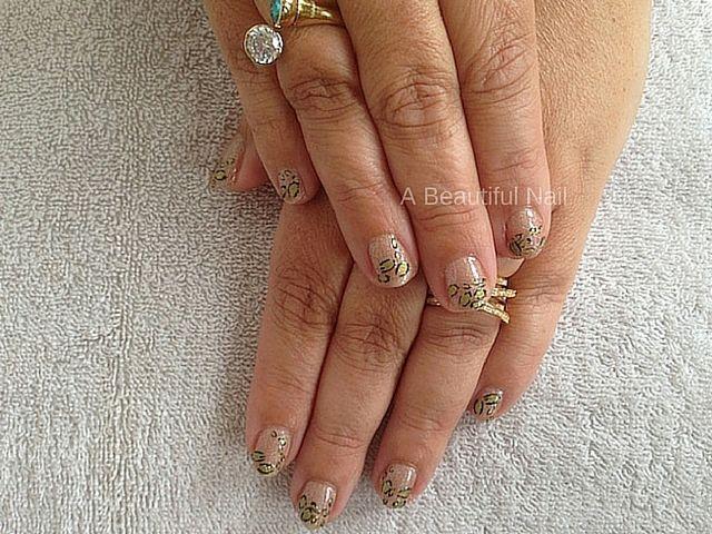 Tijger Nail-Art #Nailart #Nagels #Nails