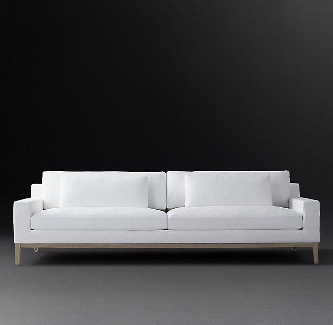 Italia Track Arm Sofa Oak Base Living Room Sofa Design Sofa