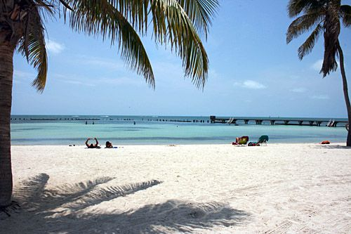 Blogger Barbara Ann Weibel of 'Hole In The Donut' - gives her take on Higgs Beach Key West