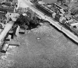 Lynn Street and the town centre, Swaffham, 1928 | Britain from Above