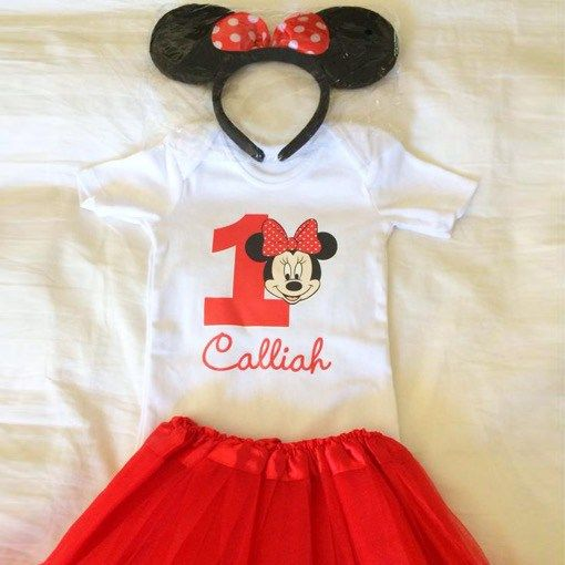 Mini Mouse Girl Outfit