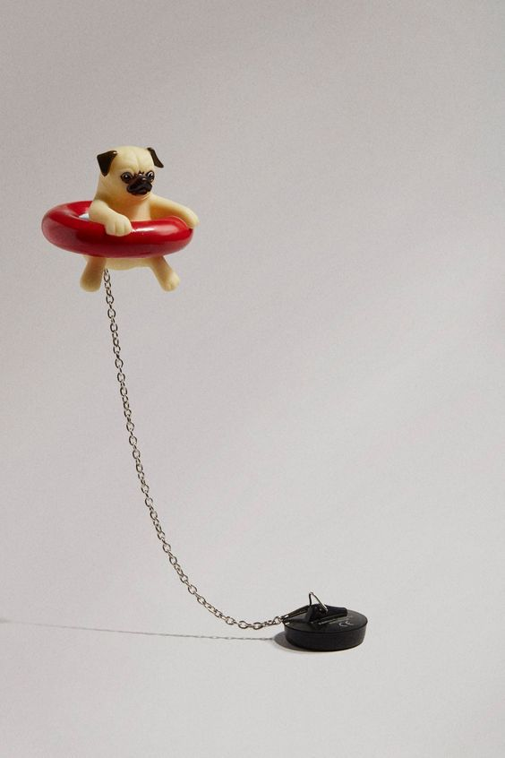 Floating Pug Bath Plug