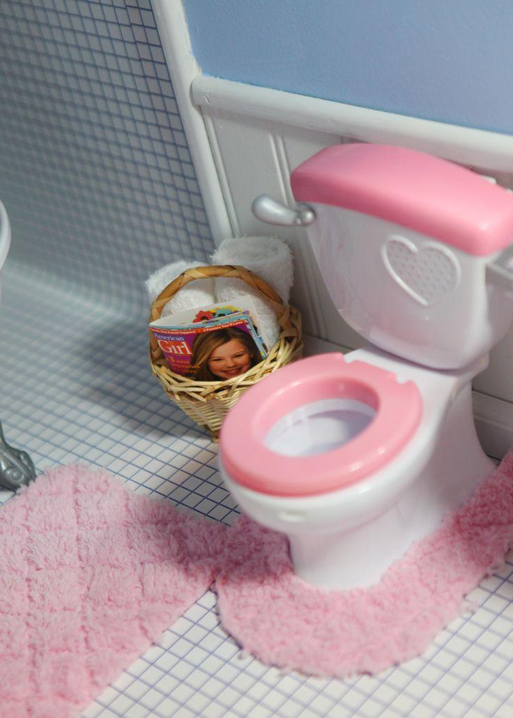 Bathroom In My American Girl Dollhouse American Girls Pinterest