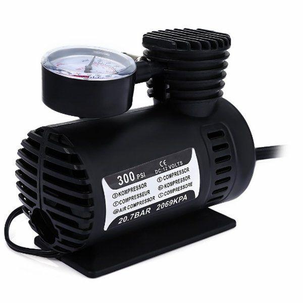 12V 300PSI Car Portable Mini Air Compressor Electric Tire Infaltor Pump 12 Volt