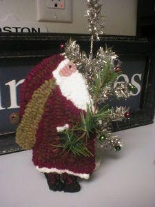 Primitives Ljo Collection Christmas Ornaments Rug