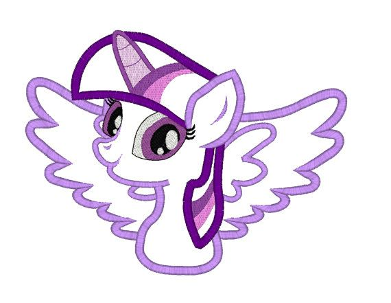 INSTANT DOWNLOAD Twilight Sparkle Pony by ButterflyStitchesemb