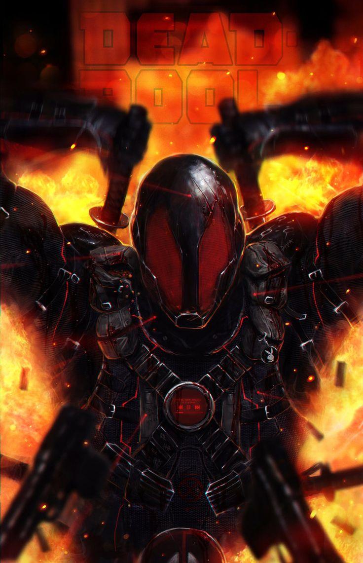 Deadpool by johnsonting.deviantart.com on @deviantART