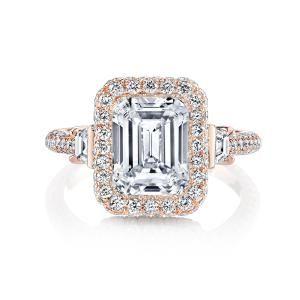 57 best Rose Gold Engagement Rings La Vie En Rose images on
