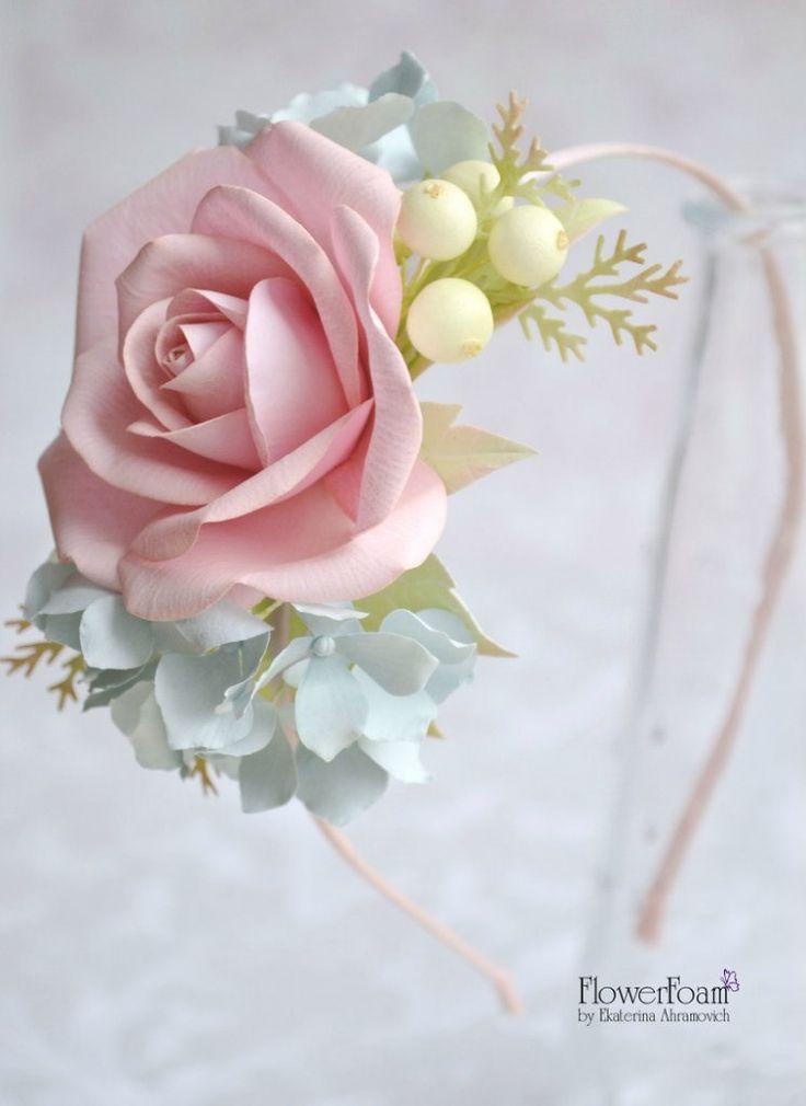 ● FlowerFoam ● Цветы из фоамирана/ревелюра ●