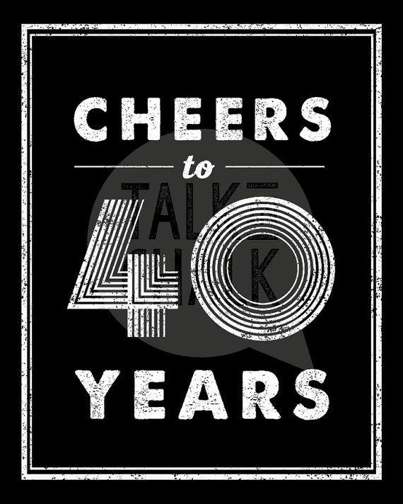 Deze 40e verjaardag teken pack bevat vier 8 x 10 digitale borden. Deze grappige, luchtige borden maken groot feest decoraties voor een 40ste verjaardagspartij. Nadat afgedrukt, kunnen ze worden ingelijst en weergegeven op tabellen of gewoon opgehangen aan de muren. Deze tekens zijn een groot compliment voor mijn terug In 1977, 40e verjaardag posters. https://www.etsy.com/listing/479680172/back-in-1977-40th-birthday-digital?ga_search_query=1977&ref=shop_items_search_3  Lees zorgvuldig de…