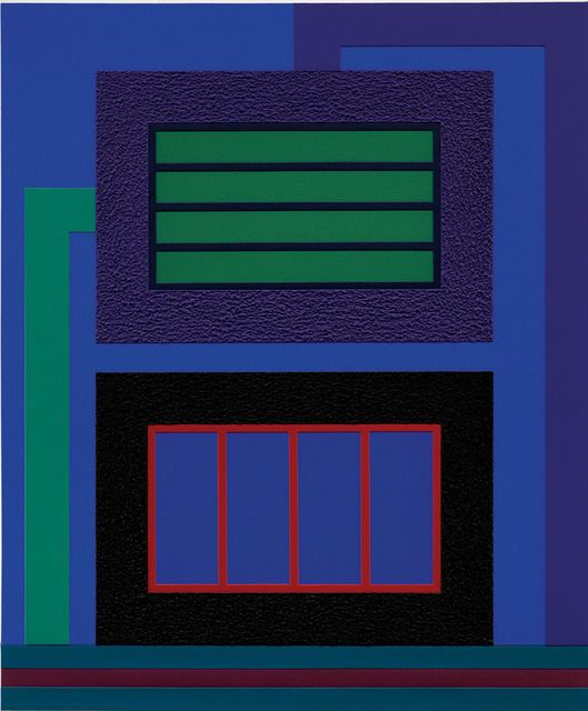 Always Night, 2013, by Peter Halley