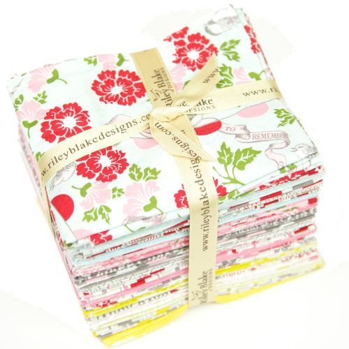 Remember by Riley Blake fabric fat quarter bundle for quilting, sewing, craft