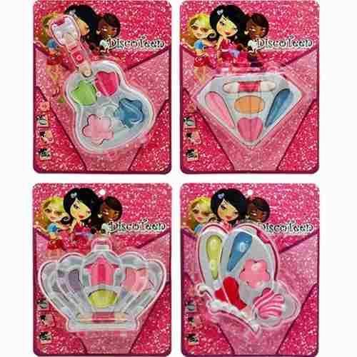 C/24  Kit Estojo De Maquiagem Infantil Blister Discoten - R$ 96,00