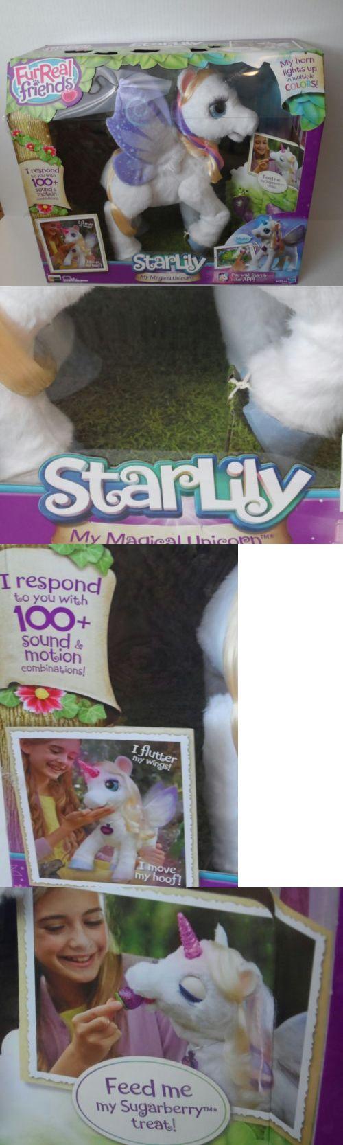 FurReal Friends 38288: Girls (Nib) Furreal Friends Starlily By Hasbro My Magical Unicorn -> BUY IT NOW ONLY: $79.99 on eBay!