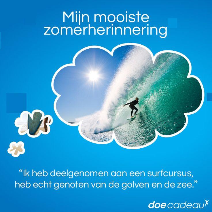 Deelgenomen aan een surfcursus! #zomer #zomerherinnering