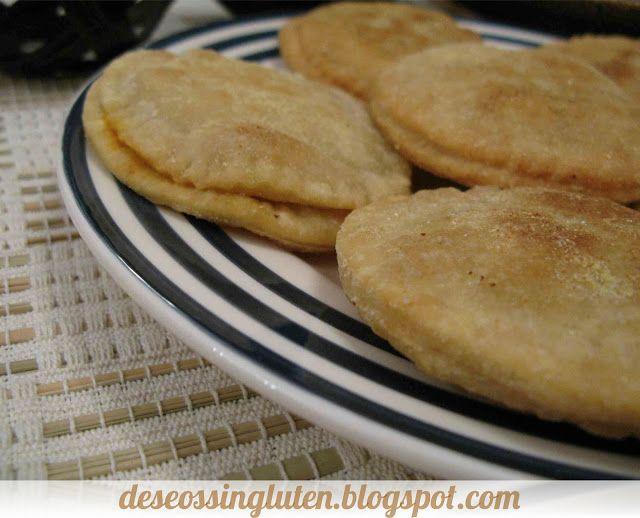 Deseos Sin Gluten: EMPANADITAS DE CALABACÍN Y SOBRASADA SIN GLUTEN