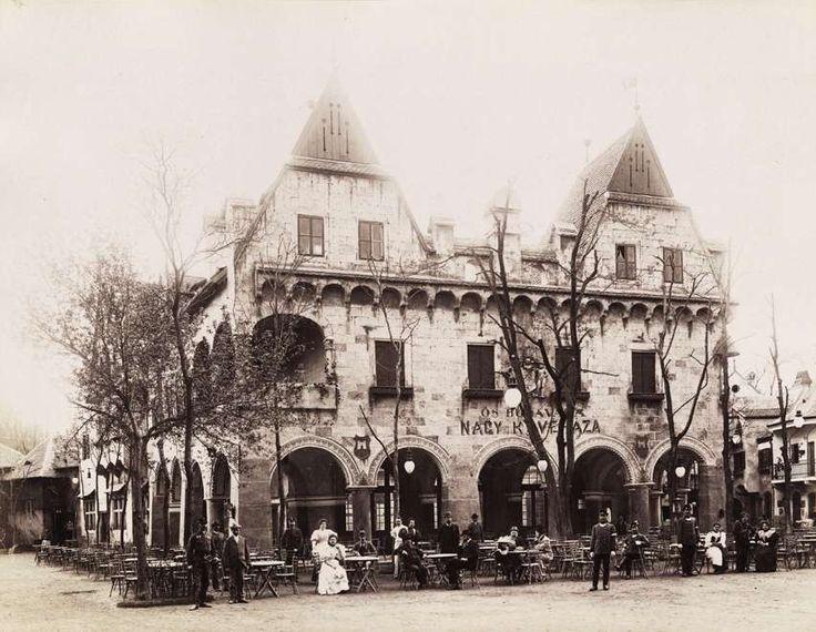 1900 körül . Ősbudavára