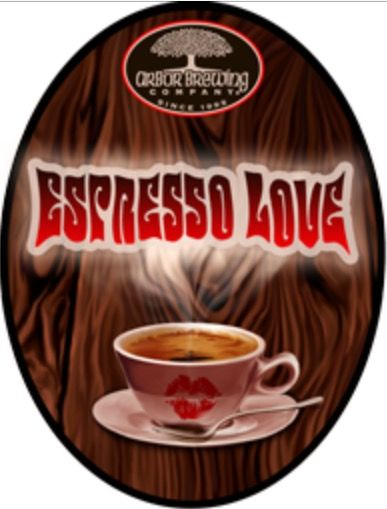 Ann Arbor Brewing Company Espresso Love Coffee Breakfast Stout  7.8% Ann Arbor, MI