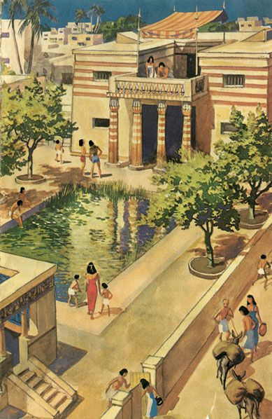 Ancient Egyptian Estates and Houses. Books 2 & 3 are set in Ancient Egypt!