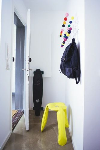fun coat hanger:  my scandinavian home