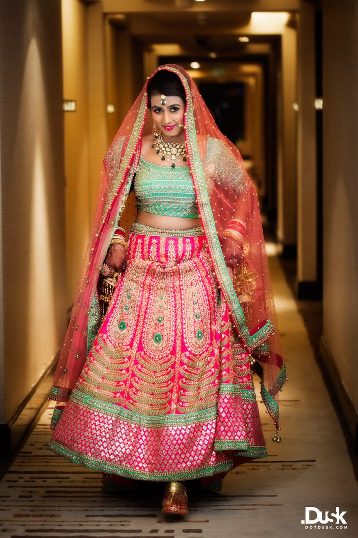 Bridal outfit by Anarkali
