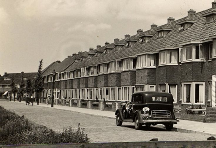 Van der Lijnstraat Alkmaar (jaartal: 1930 tot 1940) - Foto's SERC