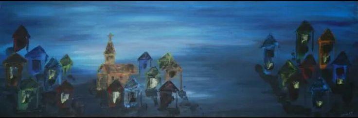 En by, om natten