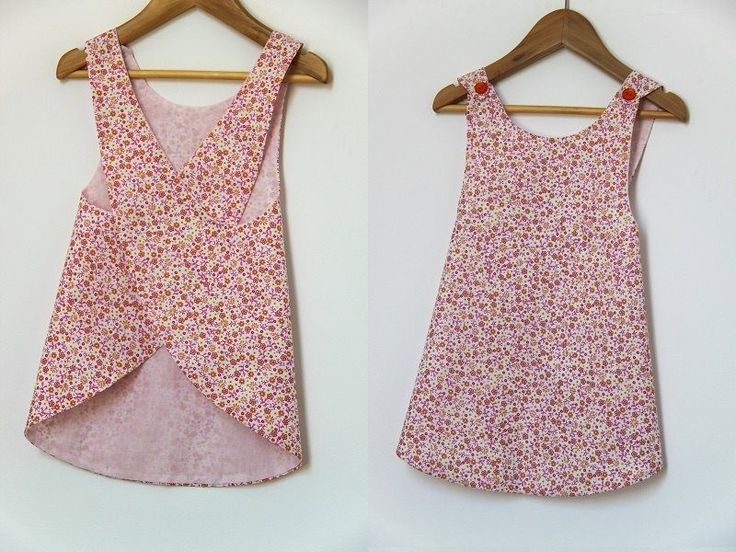 kids dress patterns | Sewing Pattern - backless summer dress