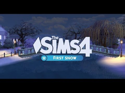 """Now Available: """"First Snow"""" Mod by SimCookie (Preview Showcase) - SimsVIP"""