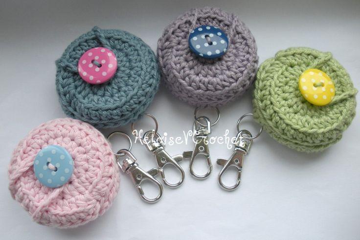 Crochet Vaseline Holder Keyring Case - The Supermums Craft Fair