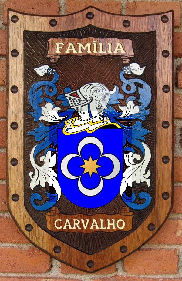 Brasão da família Carvalho de Portugal