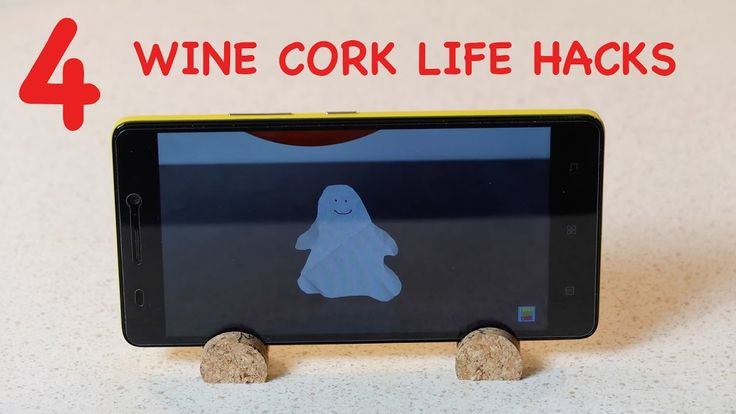 4 awesome WINE CORK LIFE HACKS. How to make organizer from cork.
