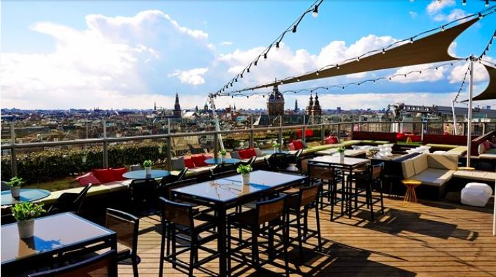 The Tourist Of Life | The Best Rooftop Bars Of Amsterdam. Skylounge amsterdam