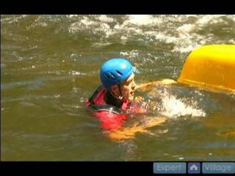 River Reading & River Safety for Whitewater Canoeing : How to Do a Roll in a Solo Whitewater Canoe - YouTube