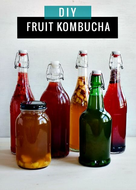 How to Make Continuous Brew Fruit-Flavored Kombucha (+ 6 Flavor Ideas)