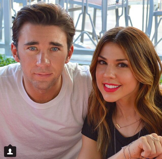 Kate Mansi and billy