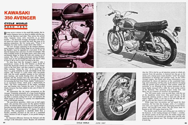 Technical Editor Kevin Cameron examines the interesting history of the Kawasaki Rotary Valve Twins A1 & A7.