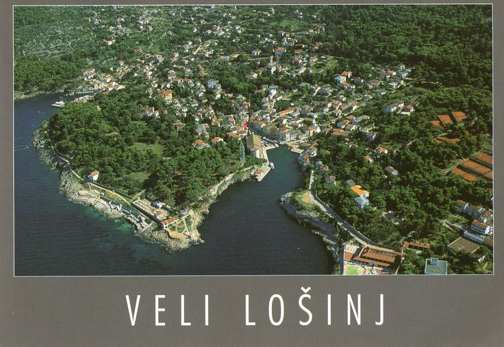 Veli Lošinj is a village on the island of Lošinj in Primorje-Gorski Kotar County in western Croatia. Veli Lošinj has a mild climate and caters to tourists. It is located 5 km from the town of Mali Lošinj. It was an important port and fishing centre until the late 19th century. Today it is known as a tourist and aromatherapy centre.