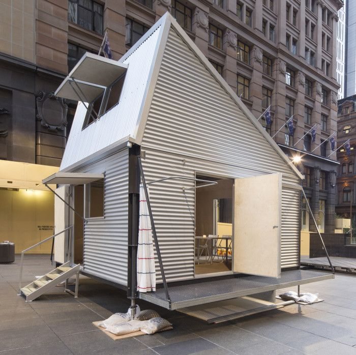 Flat-Packed Emergency Shelter