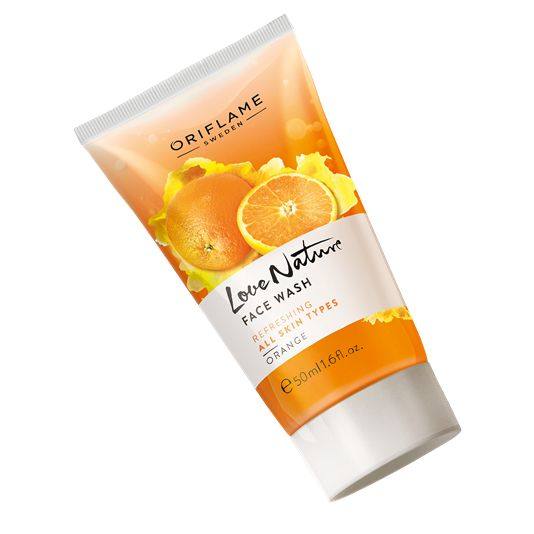 Love Nature Face Wash Orange RS:129