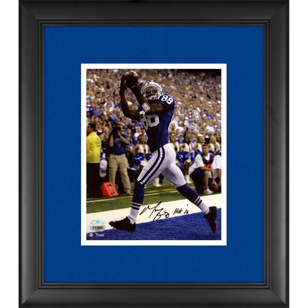"Marvin Harrison Indianapolis Colts Fanatics Authentic Framed Autographed 8"" x 10"" Touchdown Photograph with ""HOF 16"" Inscription - $219.99"