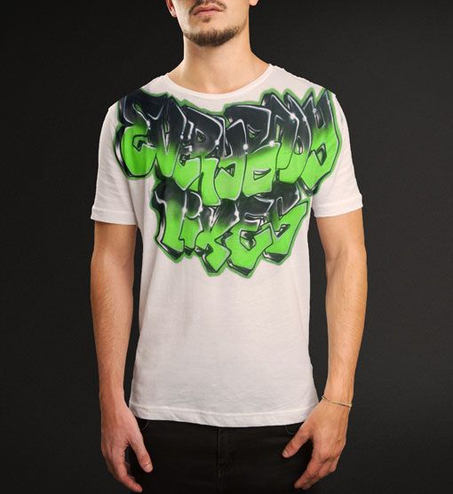 Everybody Likes 420 Graffiti Airbrush T Shirt Just For 25 Fashion CustomHats Tshirts Shopping