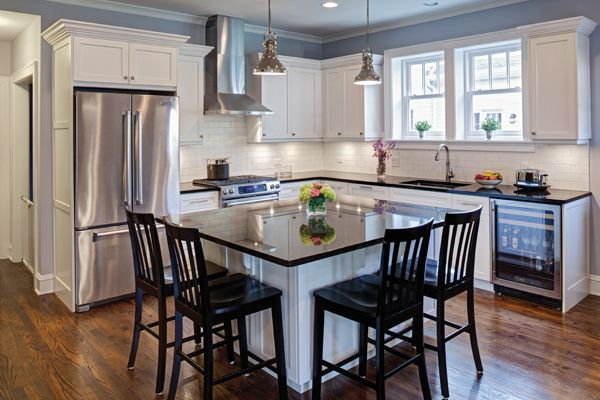 Airoom Blog: Small Kitchen Remodeling Ideas and Design Tricks - The kitchen—even a small kitchen—is the heart of your home. Small kitchens must work at least as hard as their more generously-sized cousins, so efficiency and functionality are key.