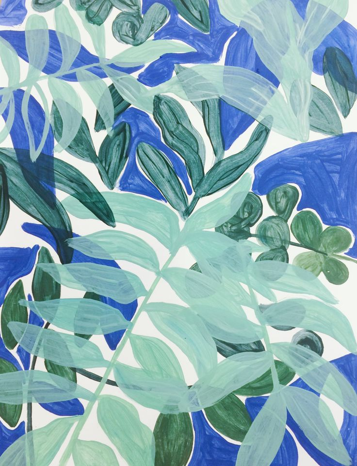 Badass Creativity // Hannah Rampley Botanical Painting www.hannahrampley.com