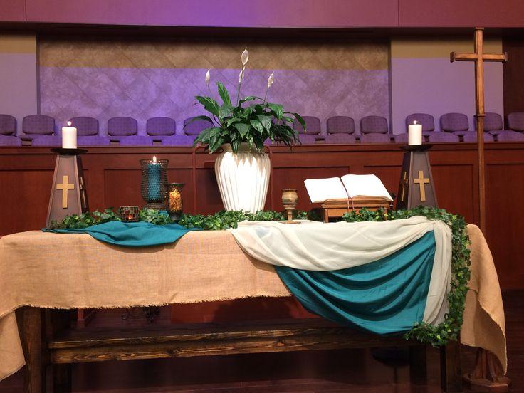 Kingdomtide 2015 Sanctuary Grace Avenue Umc Altar