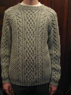 Design D Unisex Aran Sweater Pattern By Sirdar Spinning